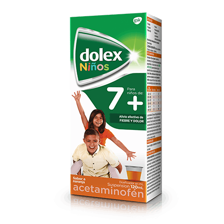 Jarabe dolex 7 suspensión