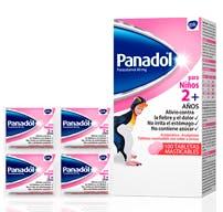 Panadol Tabletas masticables