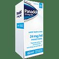 Panadol 24 mg/ml lapsille kivun ja kuumeen hoitoon