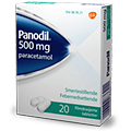 Panodil 500 mg smertestillende piller