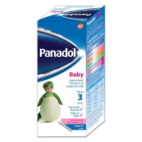 panadol colour-free suspension 1-5 years