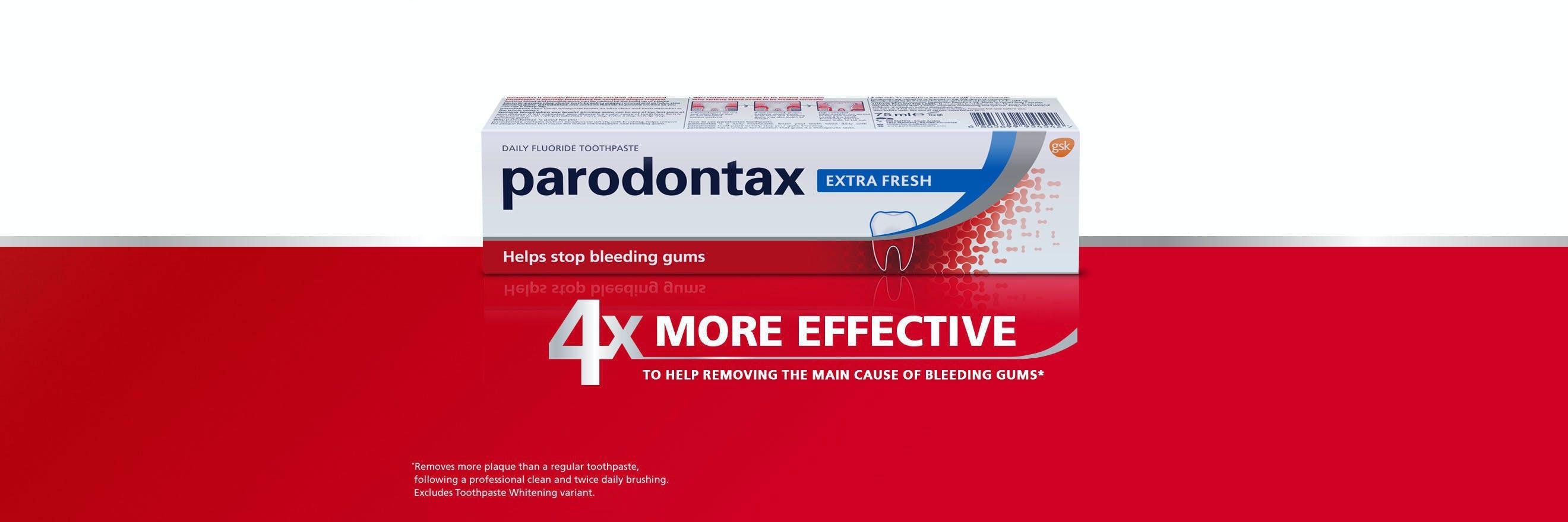 معجون أسنان بارودونتكس للنظافة الفائقة اليومي الجديد
