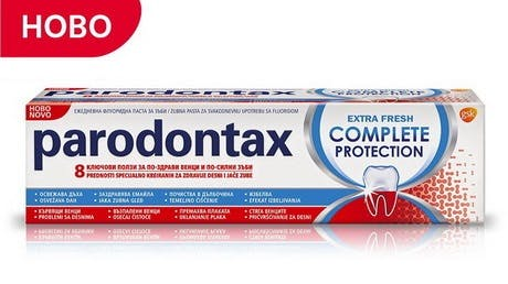 parodontax Complete Protection Extra Fresh toothpaste