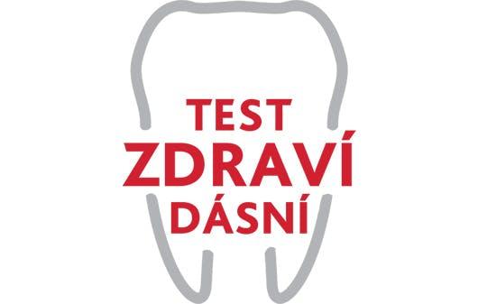 Test zdraví dásní logo