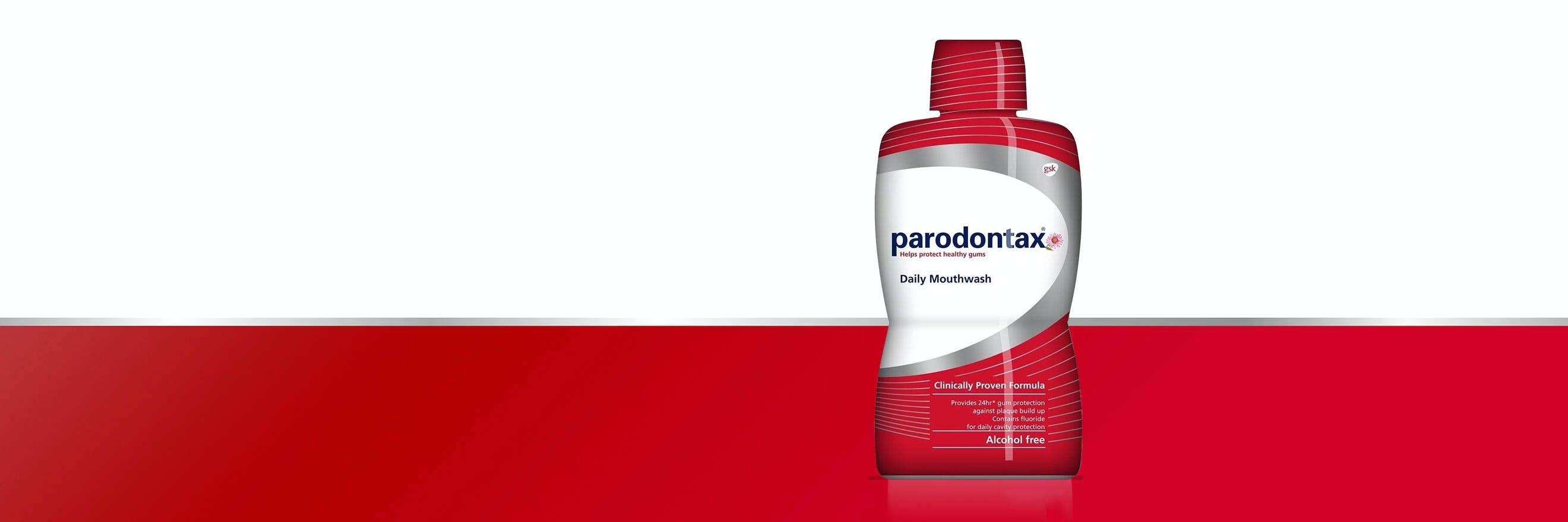 Ústní voda Parodontax ke každodennímu použití