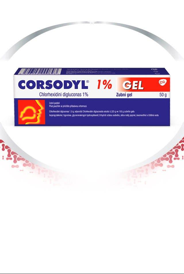 Produkty Corsodyl pro intenzivní ochranu dásní