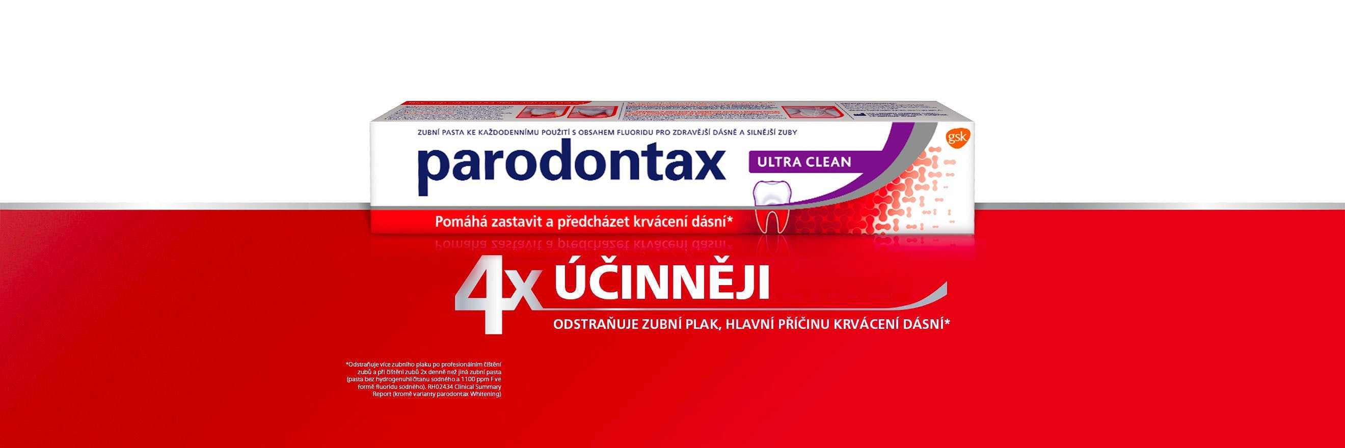 Pasta Parodontax Daily Ultra Clean