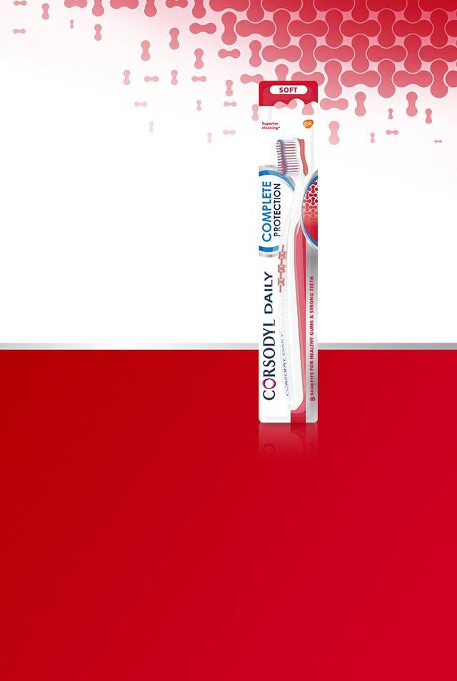 Corsodyl toothbrush range