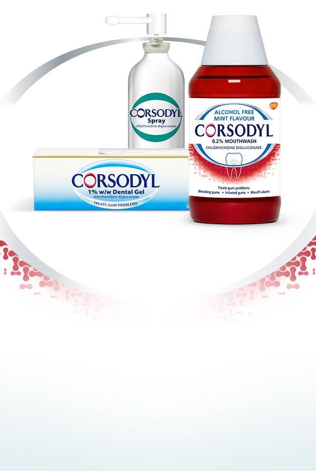 Corsodyl® Treatment Product Range