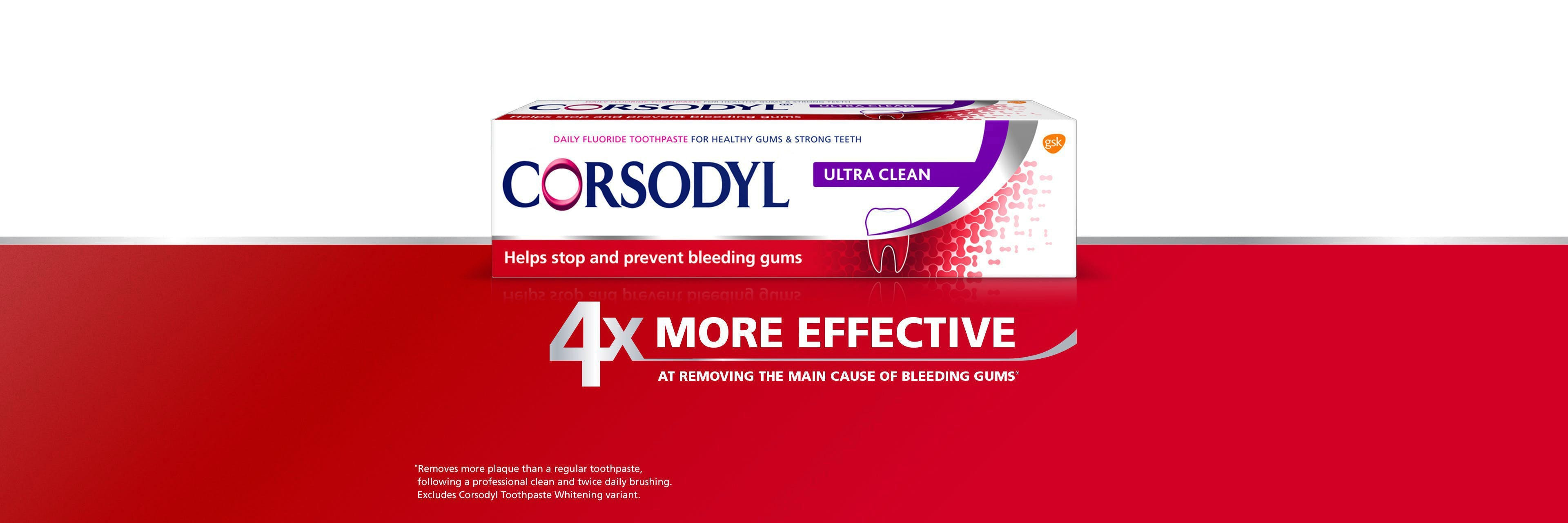 Corsodyl Ultra Clean Toothpaste