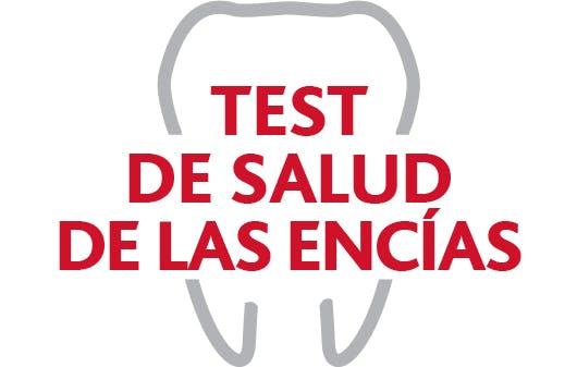 Logotipo de la prueba de salud de las encías