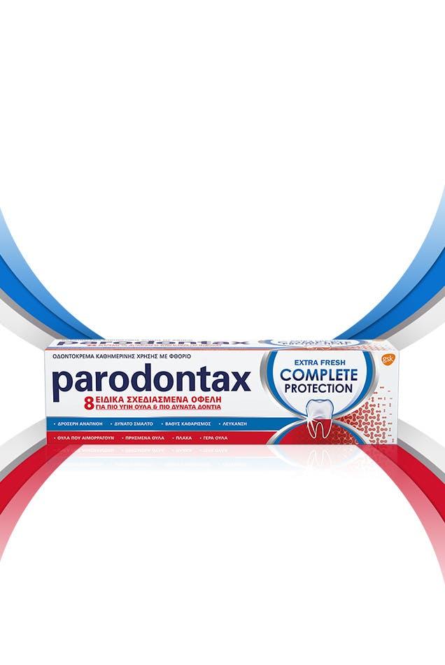 Οδοντόκρεμα parodontax για πιο υγιή και δυνατά δόντια