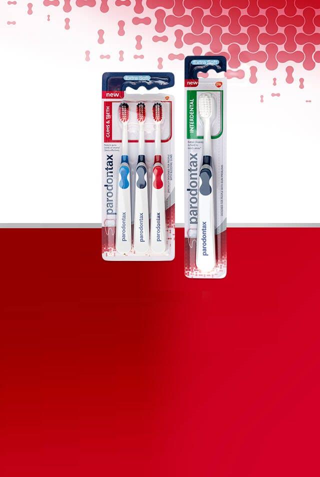 parodontax fogkefe termékcsalád mindennapi használatra