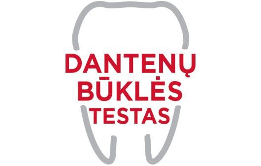 Dantenų būklės testo logotipas