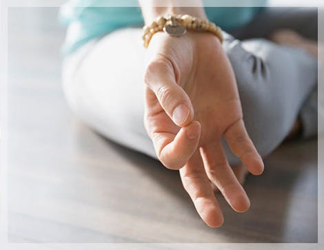 Hand Meditation