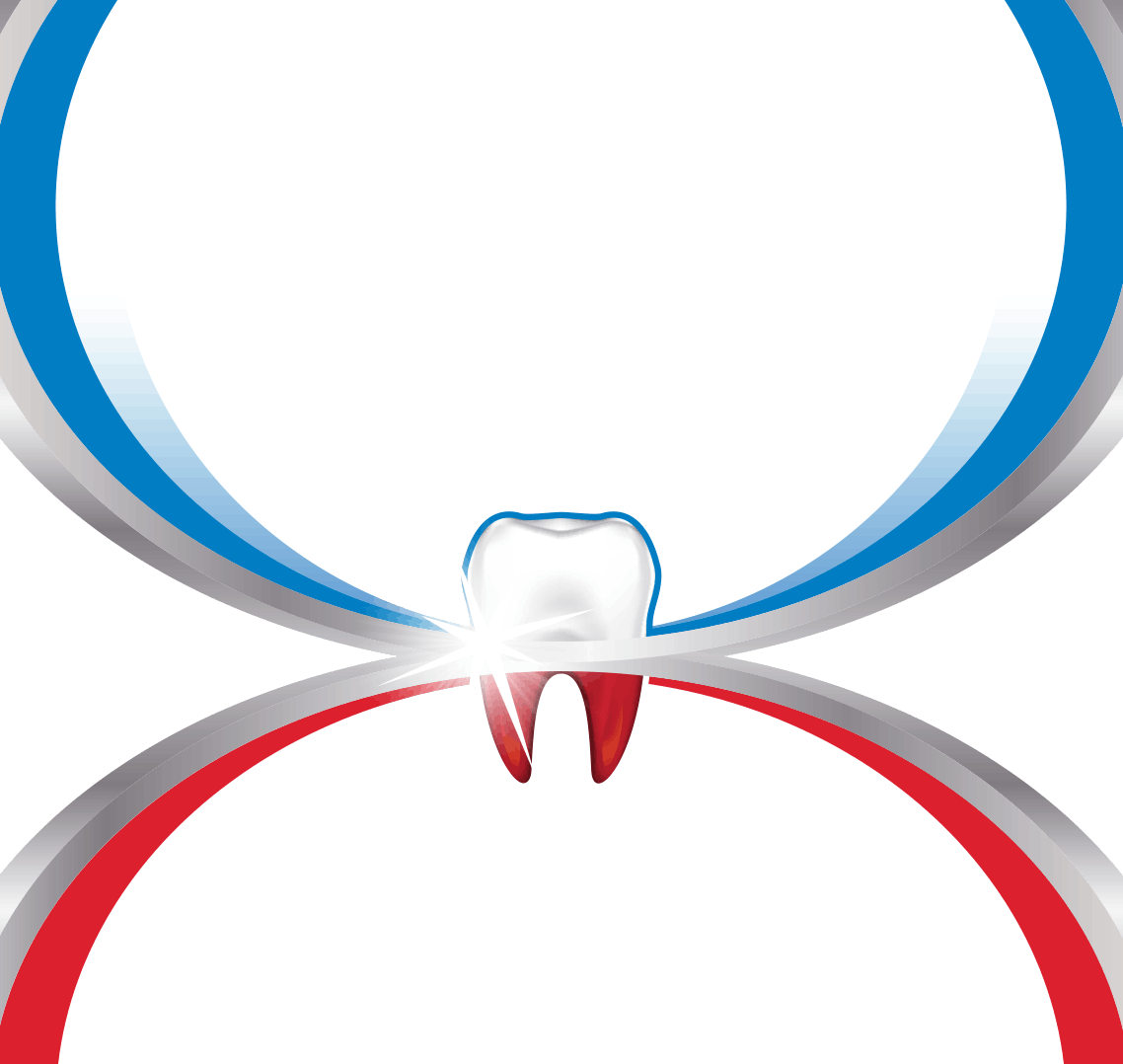Glistening tooth highlighting the benefits of parodontax toothpaste