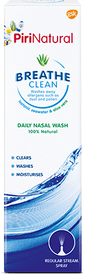 PiriNatural Breathe Clean Daily Nasal Wash