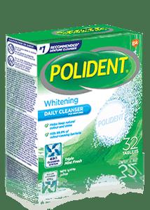 Polident Overnight Whitening cleanser