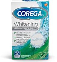 Corega Overnight Whitening műfogsortisztító