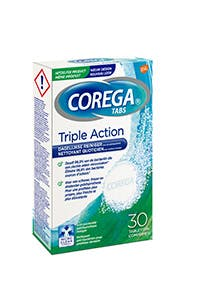 Corega® Triple Action reinigingstabletten