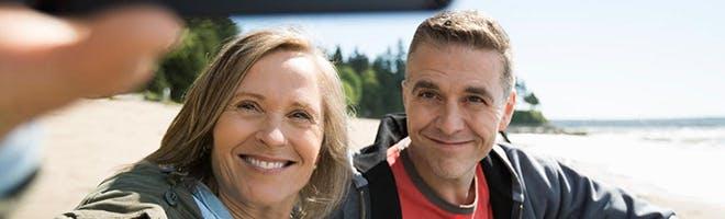 femeie și bărbat, apropiați
