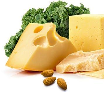 Aliments pouvant aider à diminuer l'acidité : Fromage, légumes et noix
