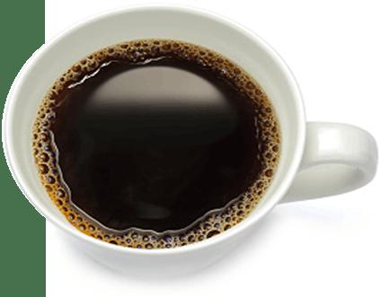 Tasse de café noir