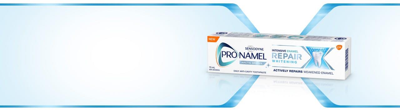ProNamel Intensive Enamel Repair Extra Fresh Toothpaste box