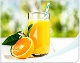 Orange Juice Callout Mobile