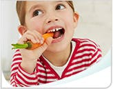 Child Eating Carrot Call Out Mobile