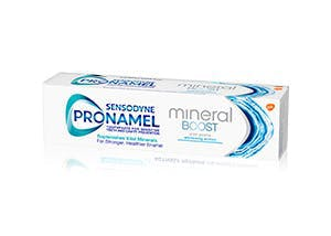 Pronamel Mineral Boost Gentle Whitening Toothpaste box