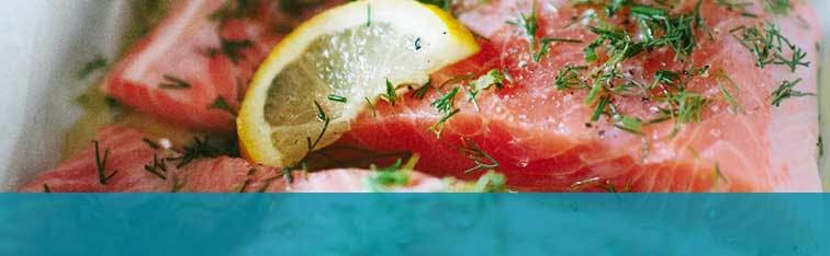 Smoked Salmon with Acidic Lemon