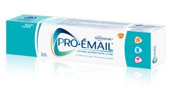 Boîte de dentifrice Pro-Émail® Vague de fraîcheur