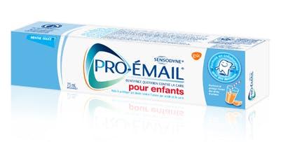 Boîte de dentifrice Pro-Émail® pour enfants