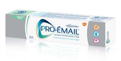 Boîte de dentifrice Pro-Émail® Essence de menthe