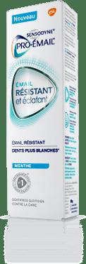 Boîte de dentifrice Pro-Émail® Résistant et Éclatant extra-frais
