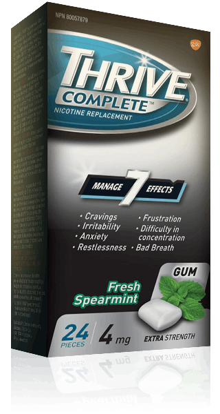 THRIVE Fresh Spearmint  Extra Strength 4 mg Complete Gum