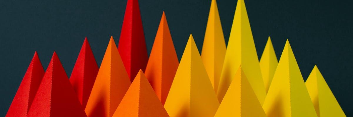 Illustration of sharp peaks