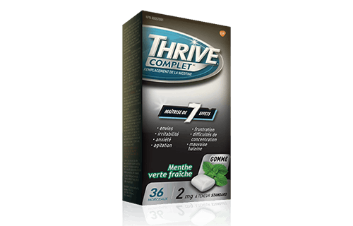Package of THRIVE Complete Gum in Fresh Spearmint flavour
