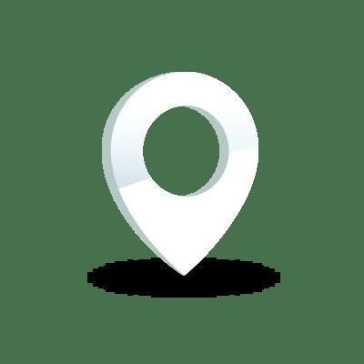 Icône Indicateur d'emplacement sur la carte