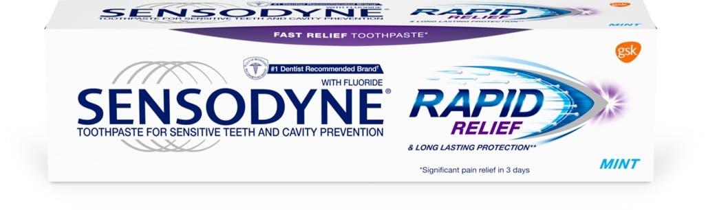 Sensodyne Rapid Relief sensitivity toothpaste