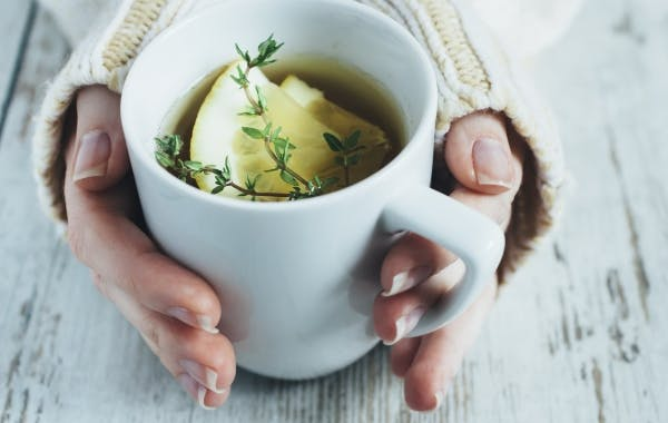 Warm tea can trigger people with tooth sensitivity to hot