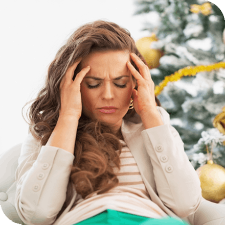 Ways holiday stress affect your body