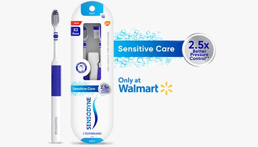 Sensodyne Sensitive Care Toothbrush reviews and product packaging