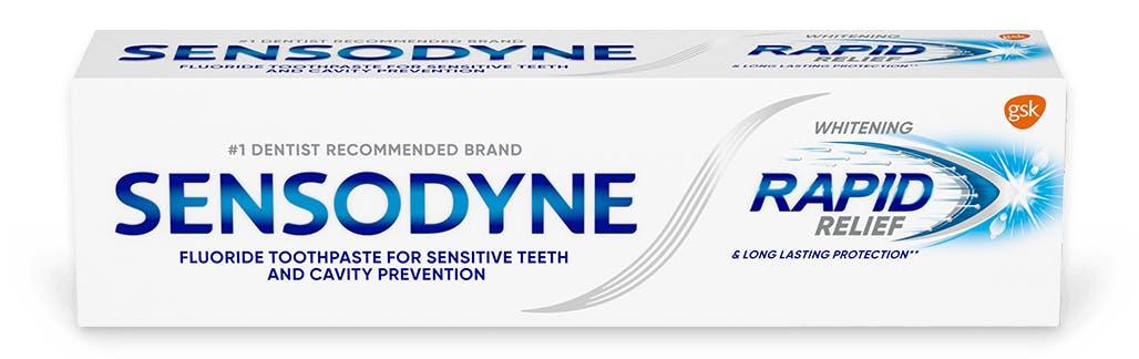 Sensodyne Rapid Relief Whitening Toothpaste