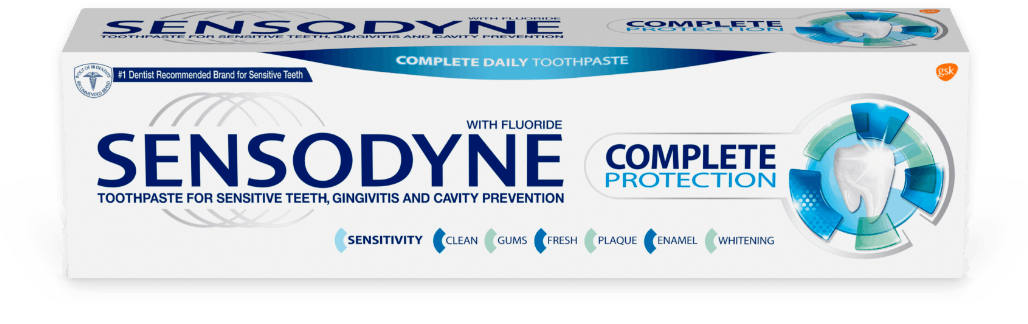 Sensodyne Complete Protection toothpaste