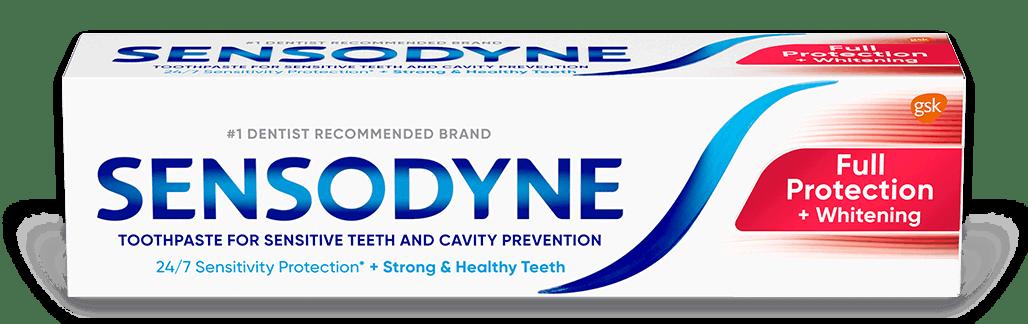 Packshot photography of Sensodyne Full Protection