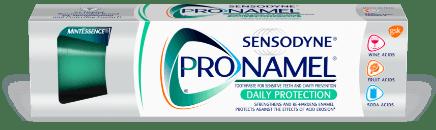 Packshot photography of Pronamel Daily Protection