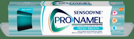 Packshot photography of Pronamel Fresh Breath