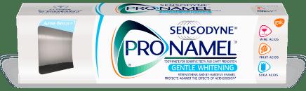 Packshot photography of Pronamel Gentle Whitening